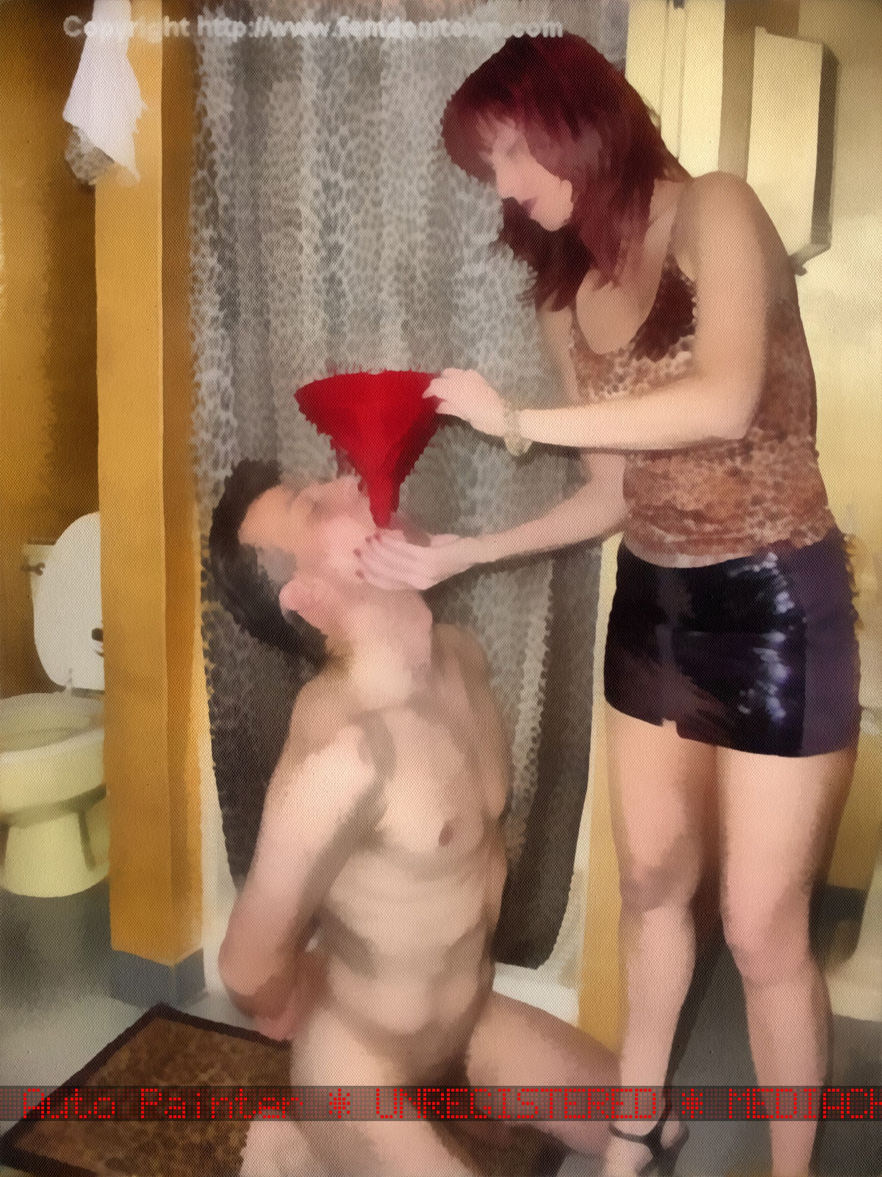 Femdom - toilet training