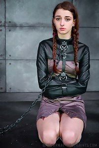 Bondage jacket straight