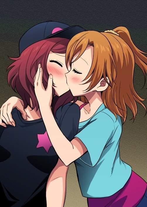 Bullpen reccomend Cartoon kissing lesbian