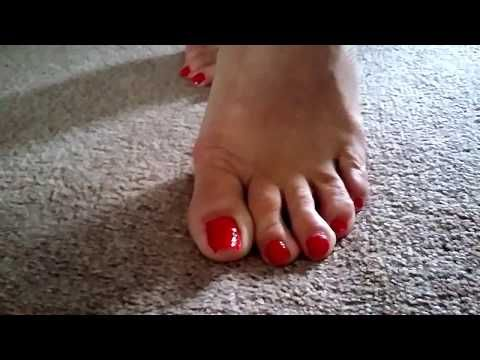 Vicious reccomend Mature mom toes