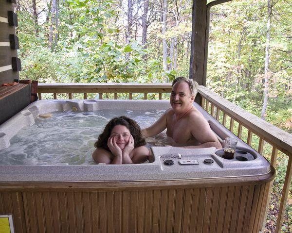 Rain D. reccomend Chubby hot tub