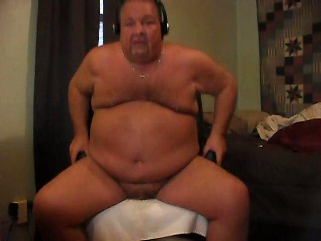 Chubby likes cum