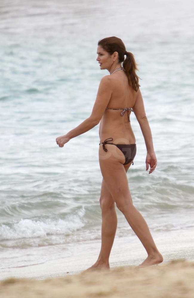 Meatball reccomend Cindy crawford in bikini at the beach
