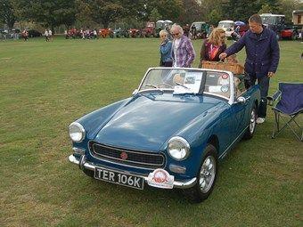 Classic car mg midget