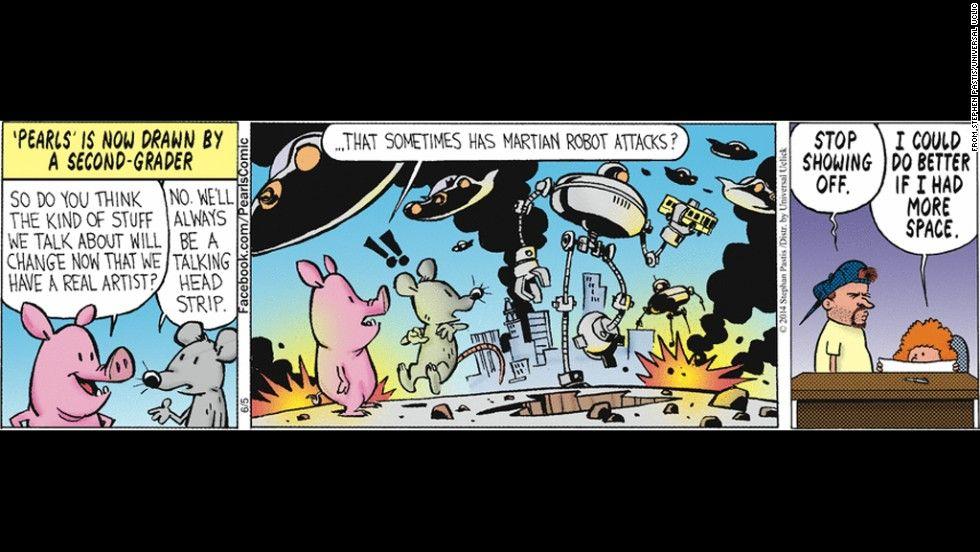Quirk reccomend Comic strip character bill watterson