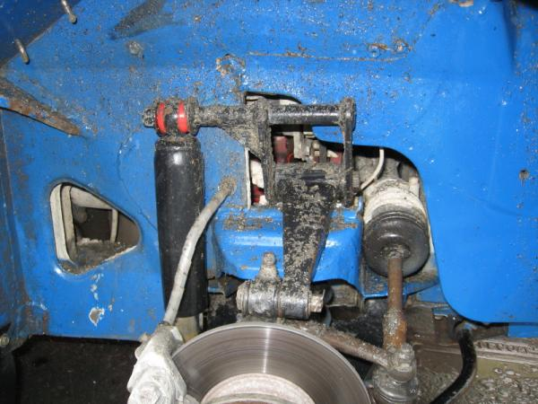 Conversion mg midget shock