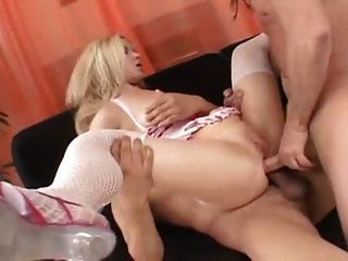 absolutely beautiful busty blonde fucking glasses toy and cummed join told all