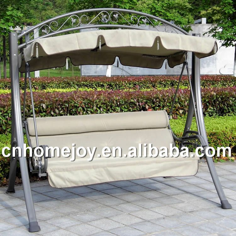 Spice reccomend Metal swinging garden bench