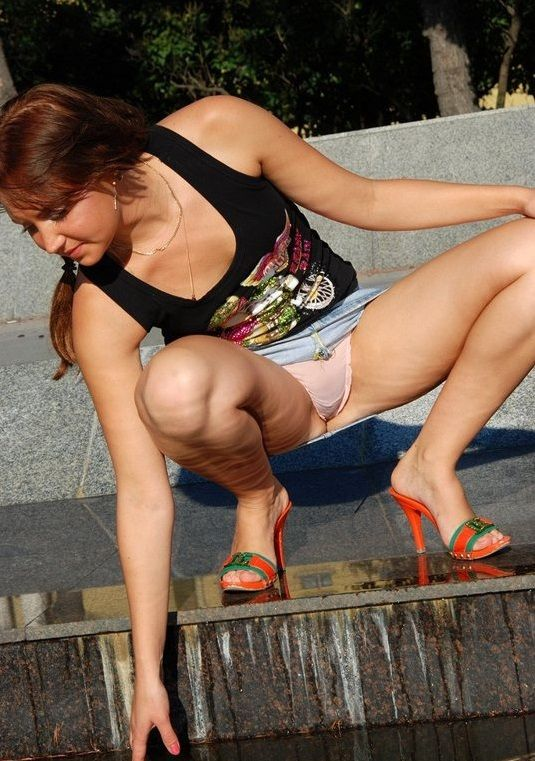 Best squatting upskirt videos opinion obvious