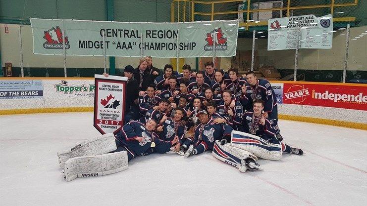 Aaa championship hockey midget ontario