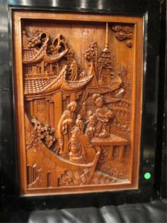 Pretty S. reccomend Asian carved panels