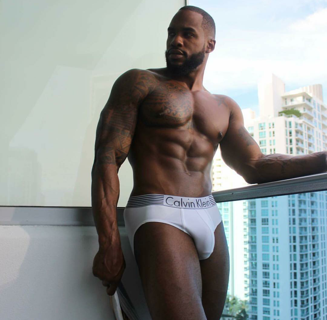 Black nude hot guys