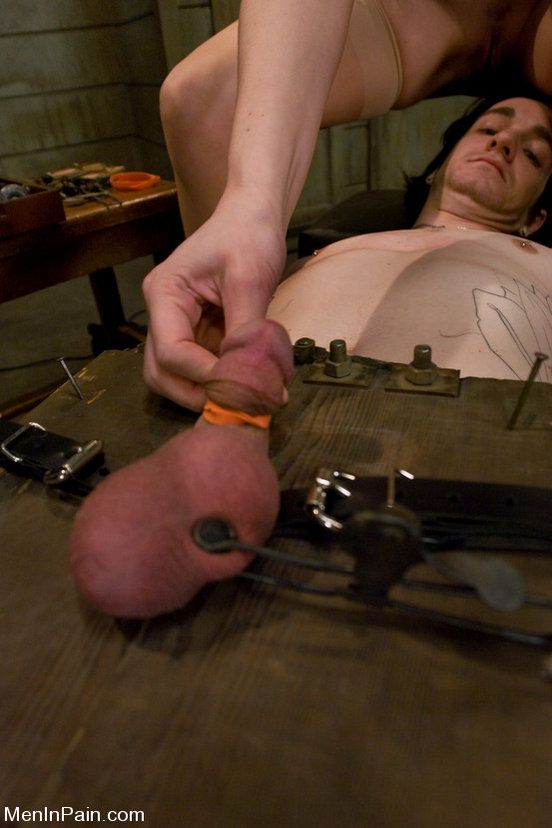Female cock ball torture