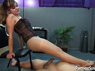 are blond gets black cock gangbang about one and