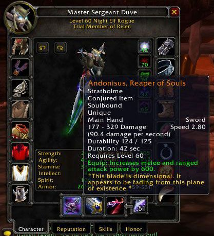 Have removed wow armor penetration rating rouge
