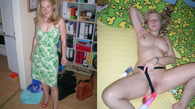 Undress wife naked