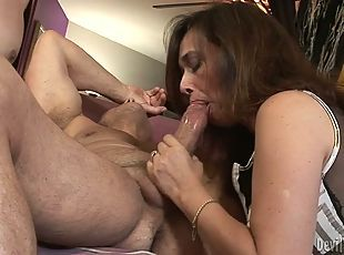 best of Young a Mature man couple fucking