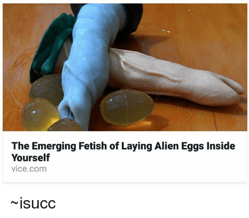 Egg laying fetish