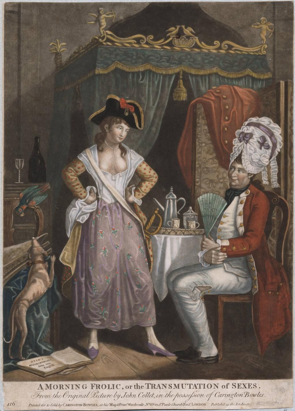 Erotic art 1700