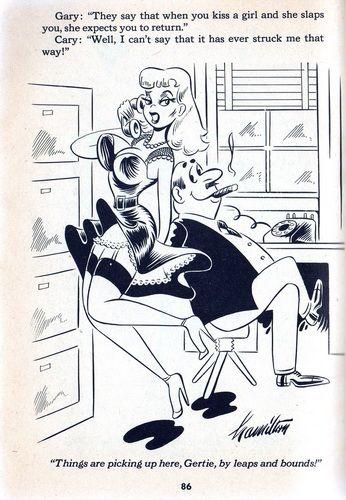 Erotic spanking animation