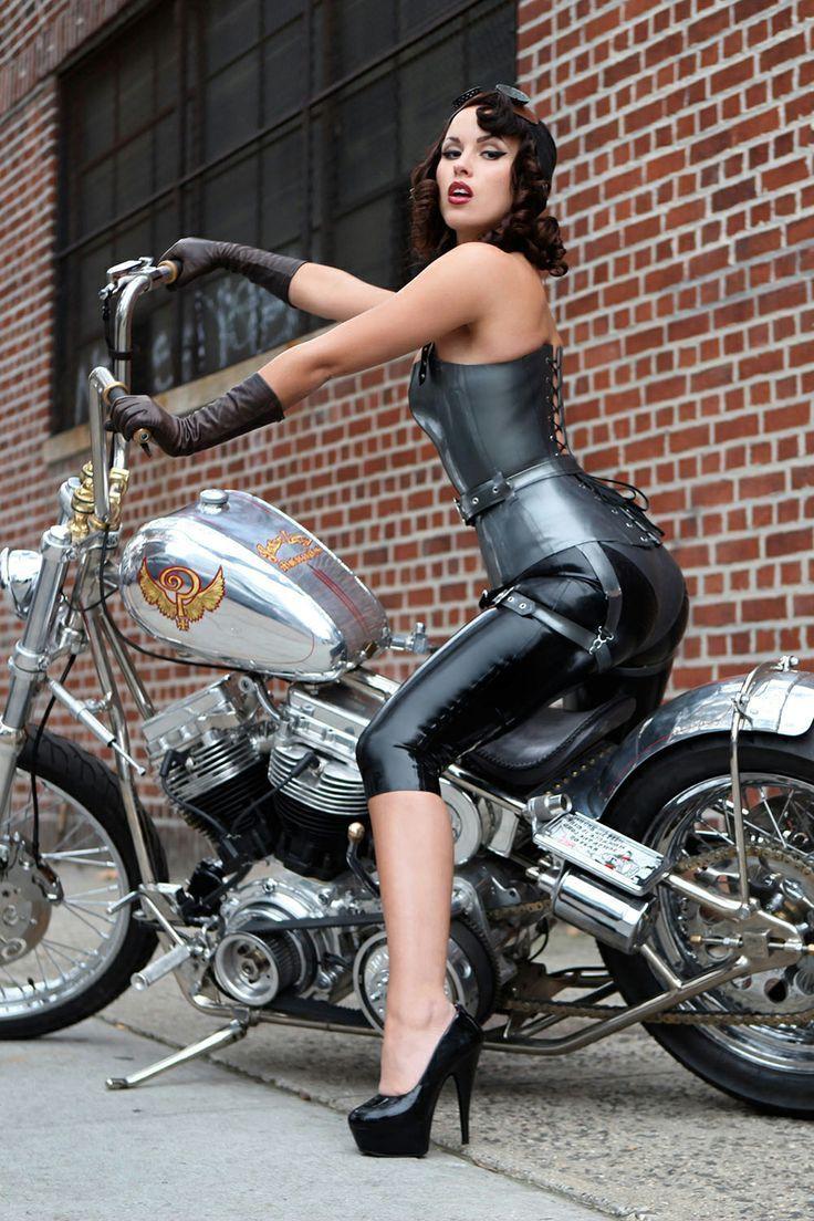 best of Beautiful biker busty Babe