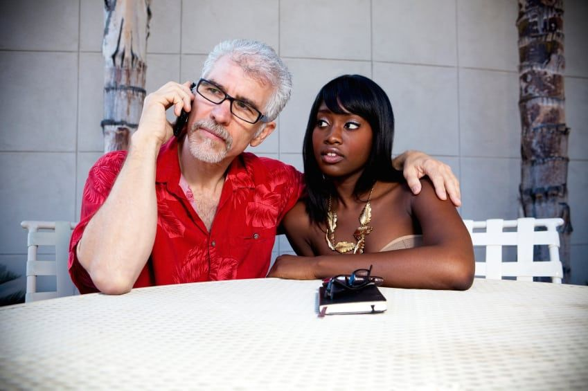best of Stories Interracial older black young white