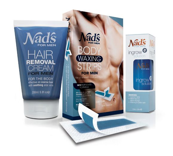 Facial hair removal products for men