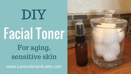 Facial toner for sensitive skin recipe