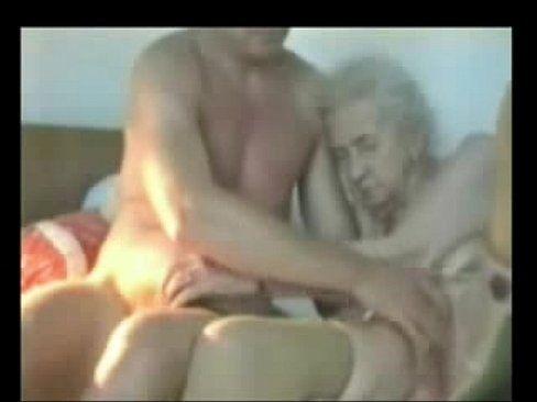Old old granny fucks