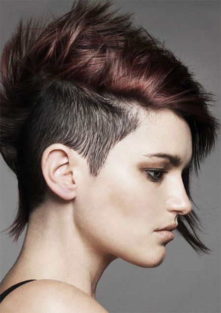 best of Style Female hair head shaved
