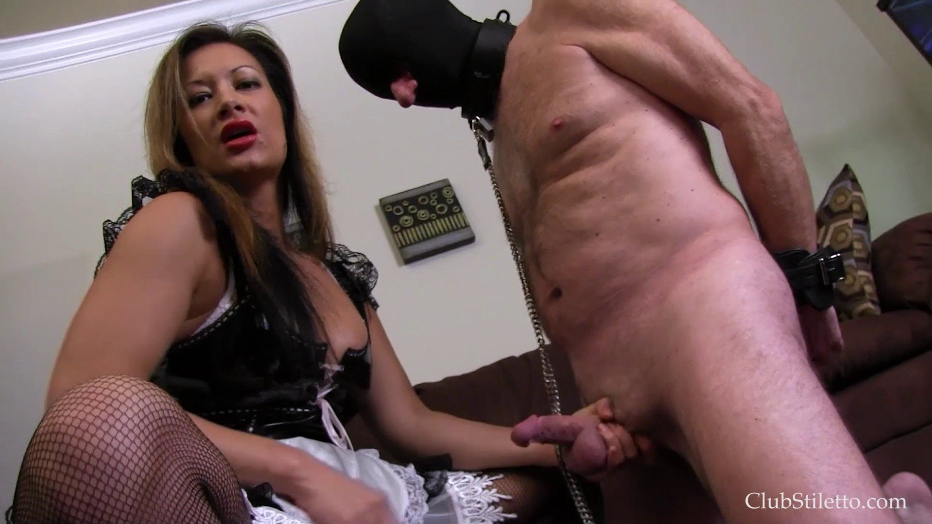 What balls femdom his story spanking point