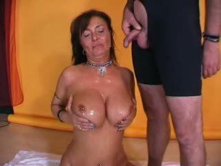 German hot mature fuck