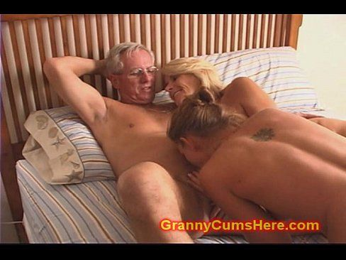 Grandma getting fucked by grandad