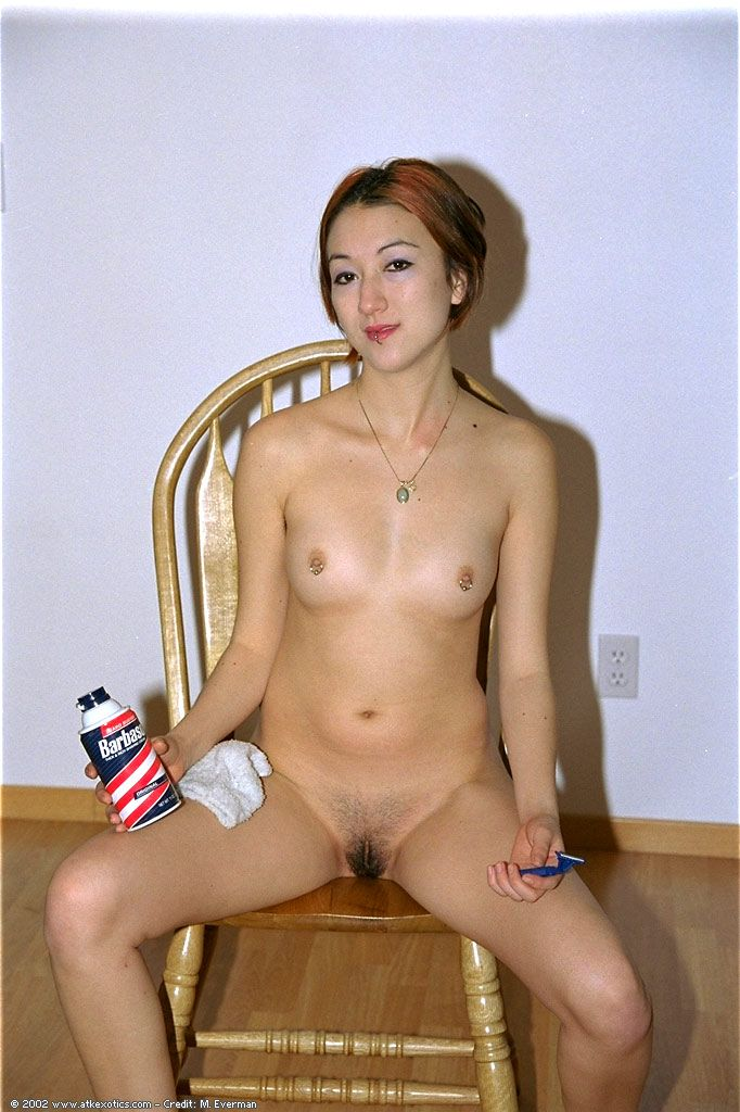 Hair pussy shave