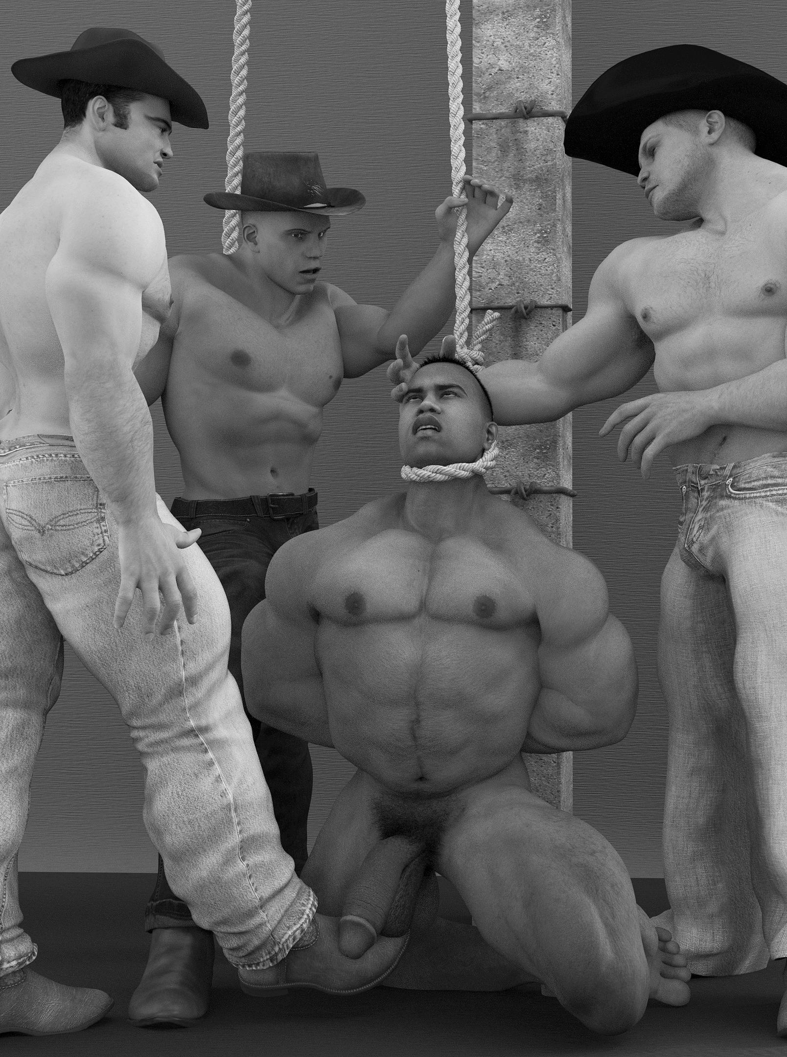 Casper reccomend Hang him nude