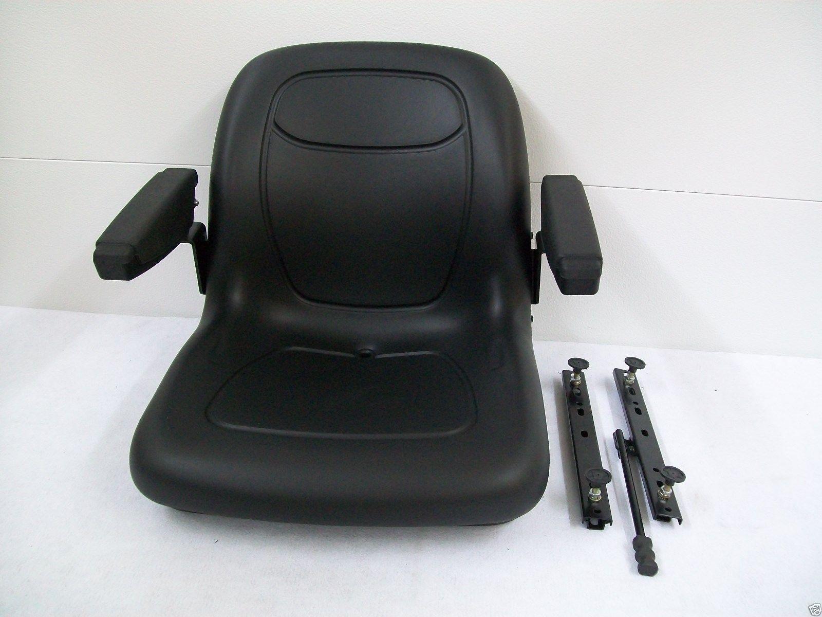 Hustler mower seat