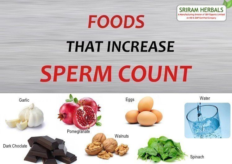 best of Quantity sperm Increase