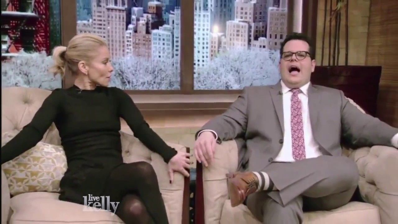 Bubbles reccomend Kelly ripa wearing black pantyhose