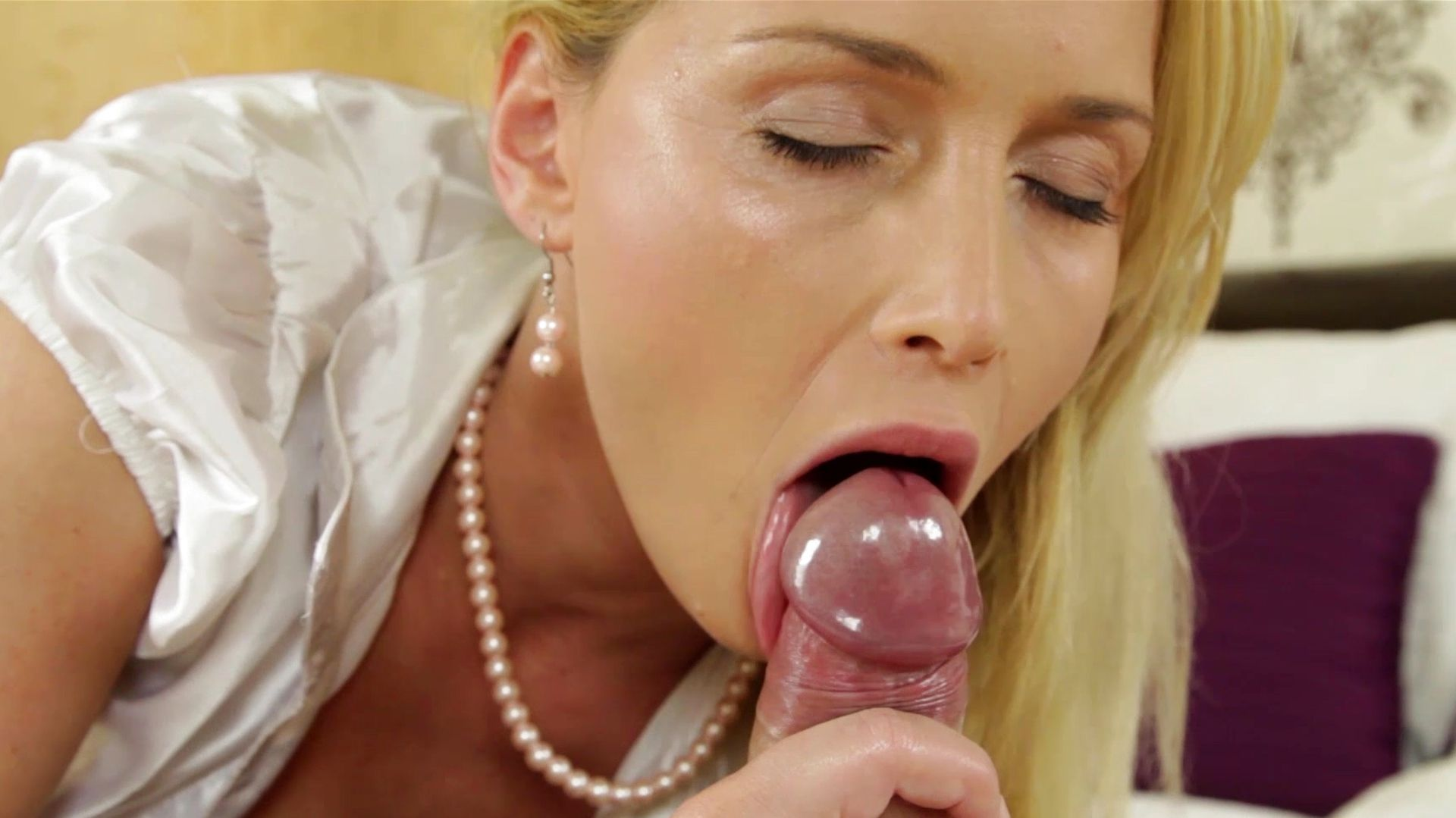 Not best way to lick cock think, what