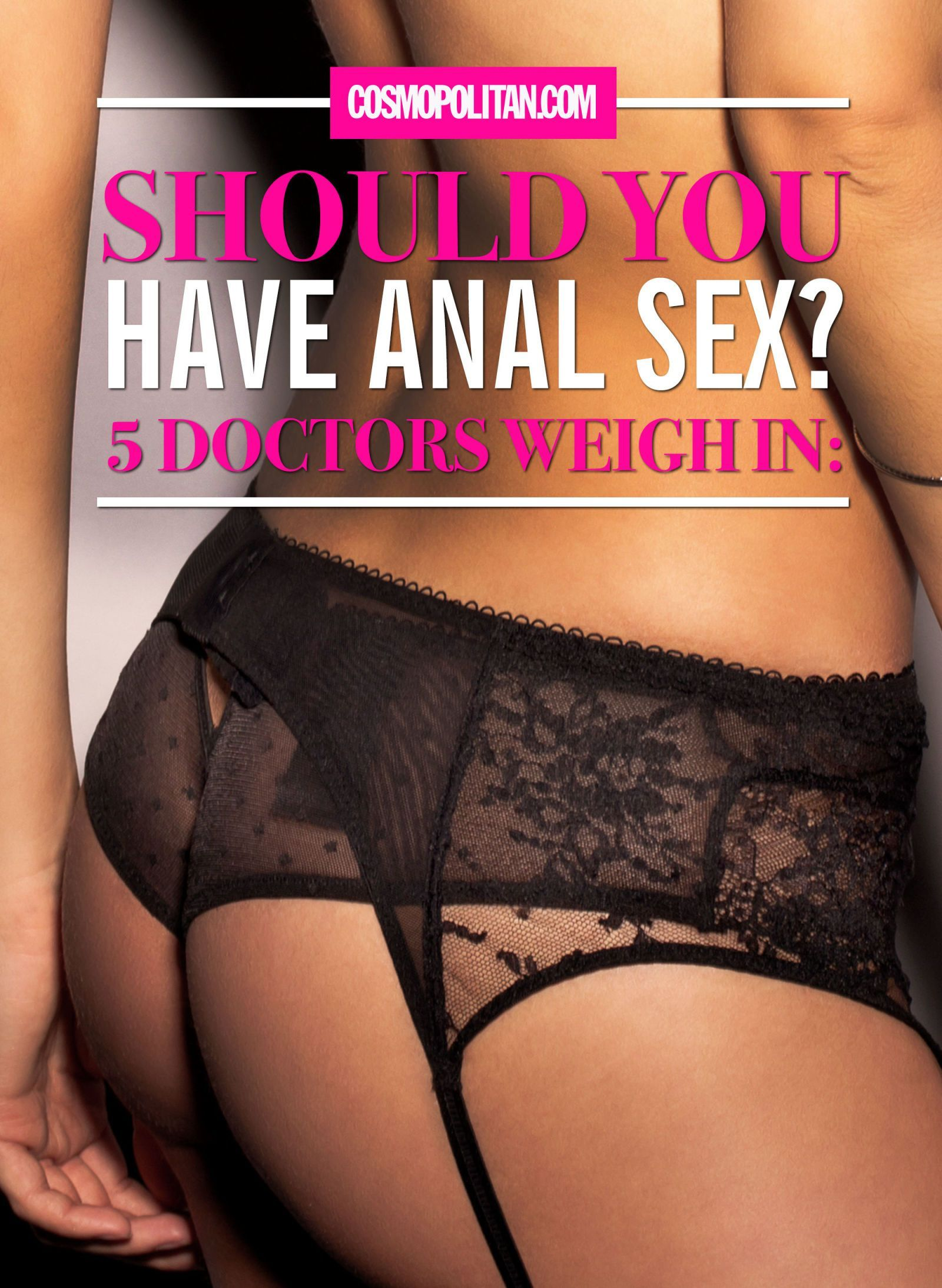 Magnet reccomend Medical advise to anal sex
