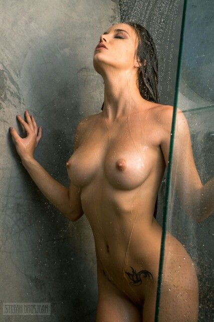 Naked out of shower