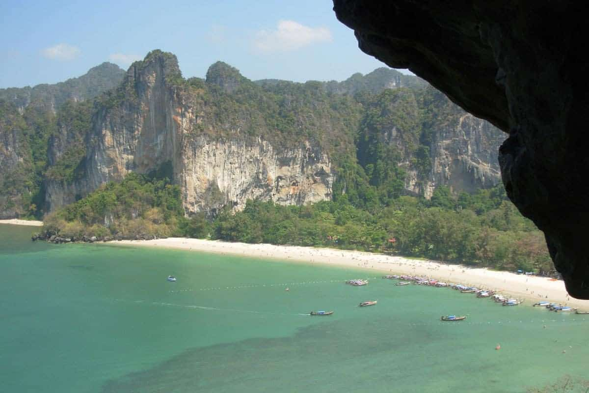 Nudist in railay beach