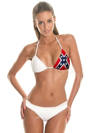 best of Photo bikini Rebel flag