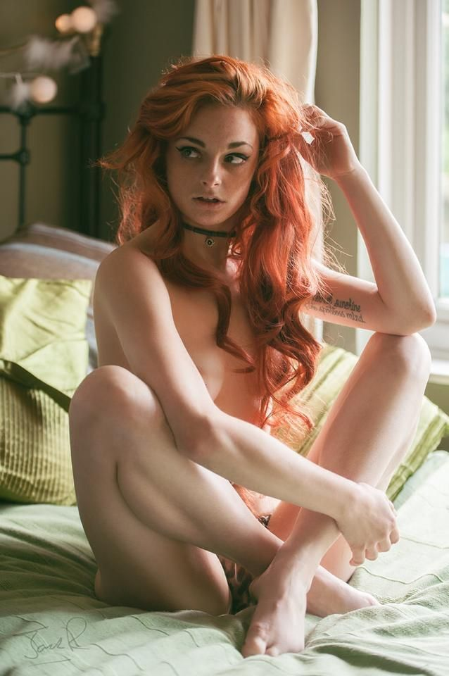 Nude ginger girls
