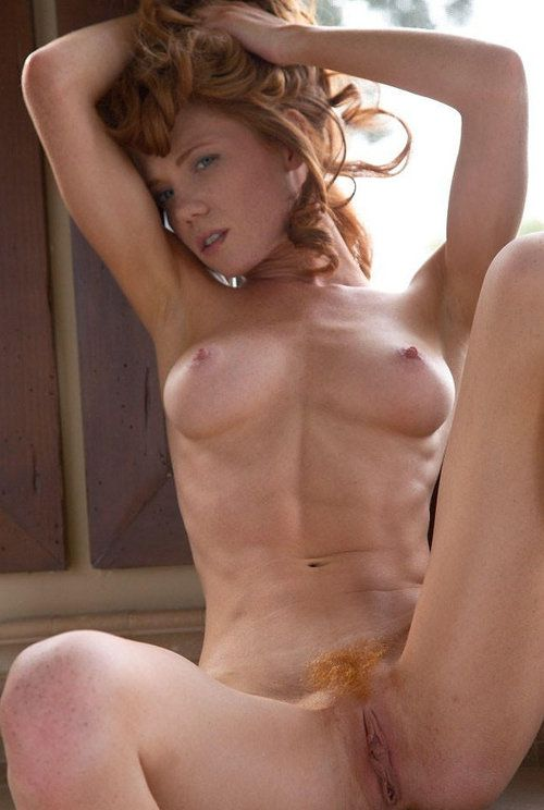 Big libia with redhead