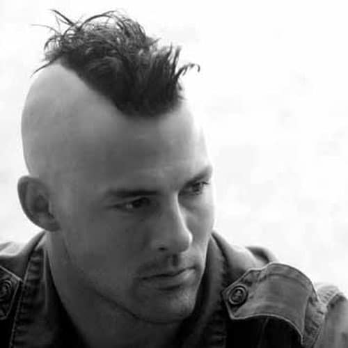 Shaved mohawk styles