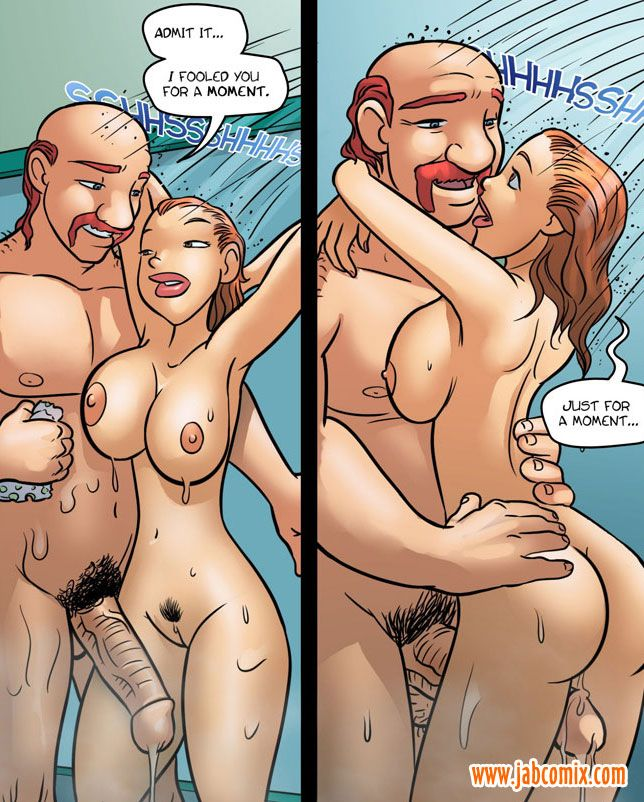 Shower sex comic