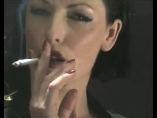 Smoking fetish free video