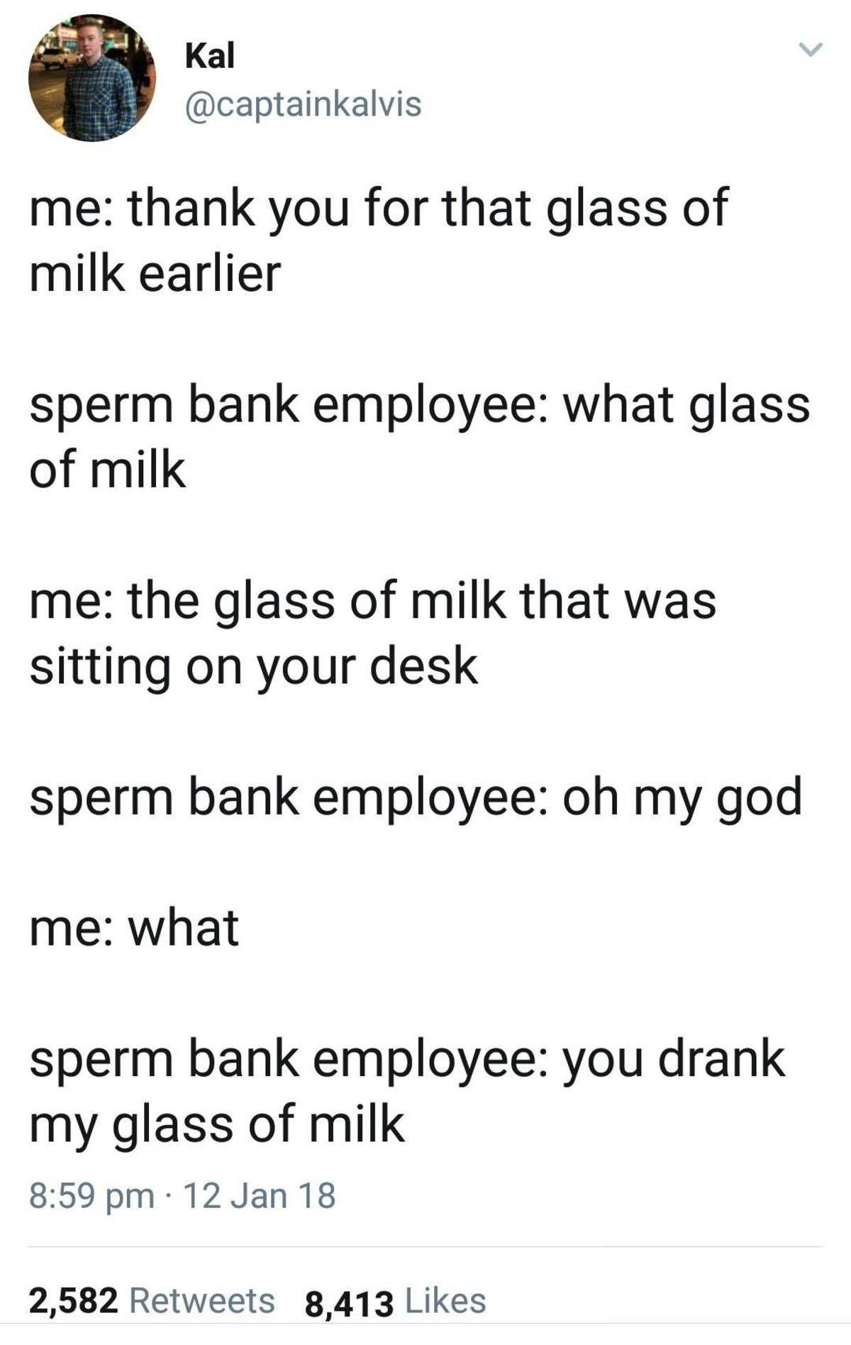 best of Joke Sperm bank