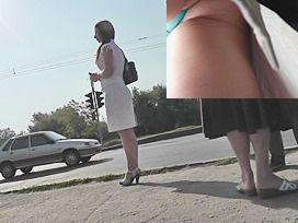 Upskirt spy photo